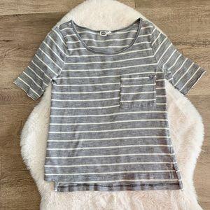Roxy Short sleeve striped top